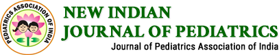 New Indian Journal of Pediatrics